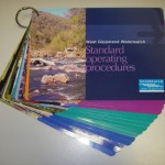 A picture of the standard operating procedures book
