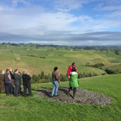 Mt Worth and District Landcare group members looking at revegetation sites