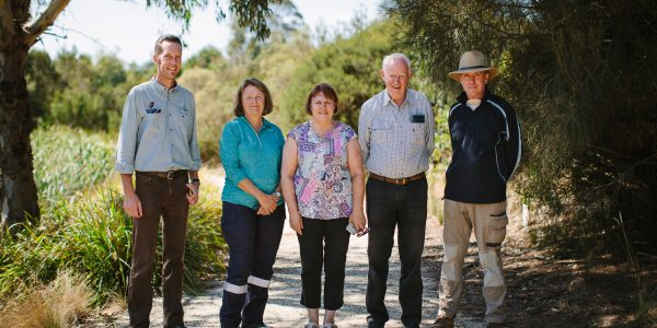 WGCMA Flooding Creek Landcare Group