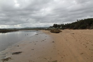 The mouth of the Powlett River