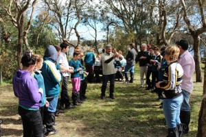 Bug Blitz day with local students at Heart Morass