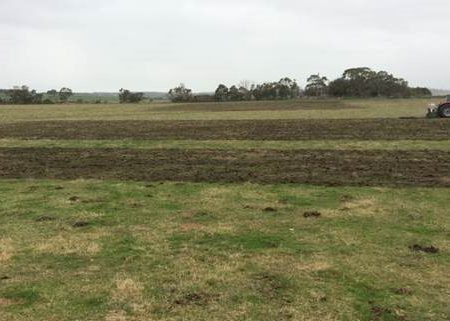 Working on SoilKee demonstration paddock