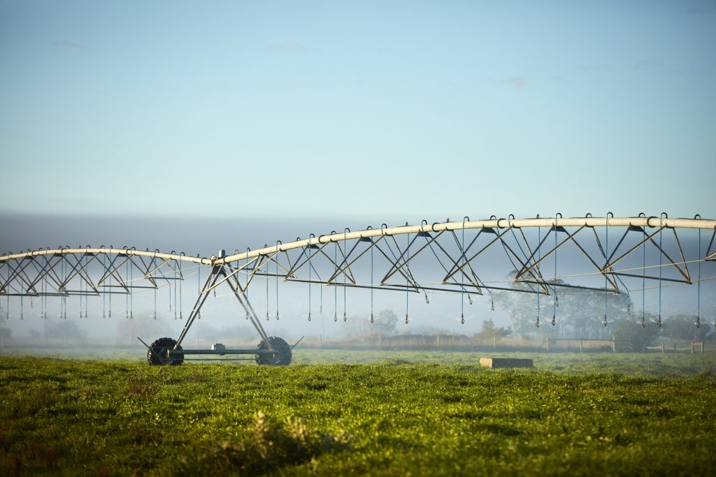 Water for Victoria Pivot irrigating in the MID