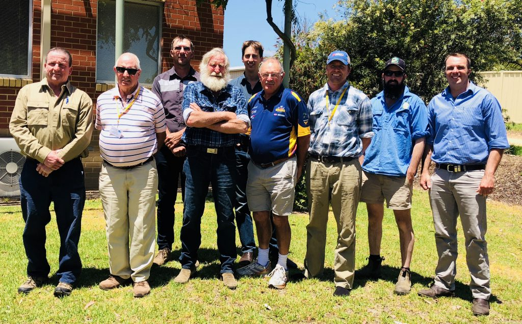 Members of the Irrigator Reference Group