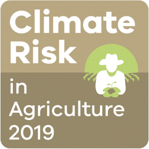Logo for Climate Risk in Agriculture conference