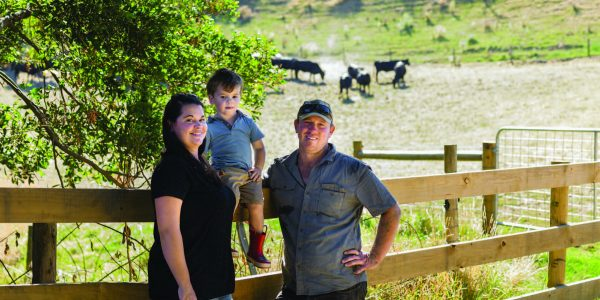 Amy & Brent Richardson with their son