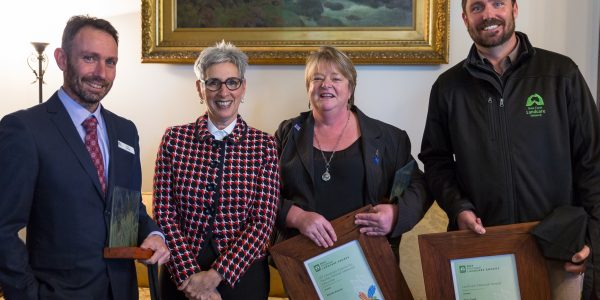 Gippsland winners at the 2019 Victorian Landcare Awards