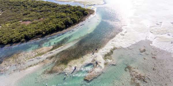 Corner Inlet from the sky